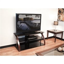 "48"" Wide TV Stand in Black"