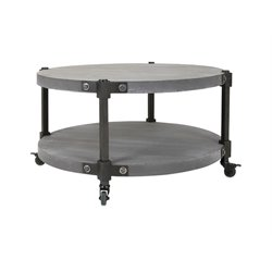 IMAX Corporation Modon Coffee Table in Gray