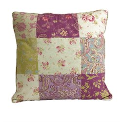 IMAX Corporation Etta May Patchwork Pattern Decorative Pillow