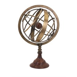 IMAX Corporation Beth Kushnick Armillary Globe in Brown