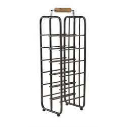 IMAX Corporation Drummond Wine Rack in Black
