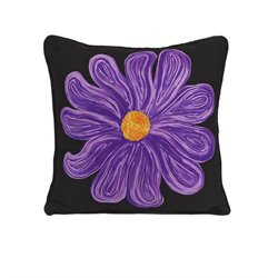 IMAX Corporation Bloom Decorative Pillow in Purple