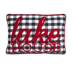 IMAX Corporation Lake House Decorative Pillow in Red
