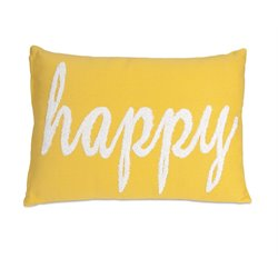 IMAX Corporation Suzie Happy Decorative Pillow in Yellow