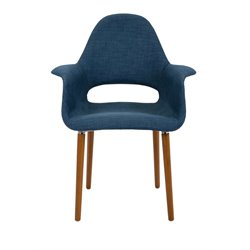 IMAX Corporation Brunslow Arm Chair in Blue