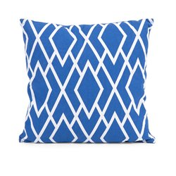 IMAX Corporation Conley Graphic Print Decorative Pillow in Blue