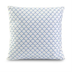 IMAX Corporation Suryan Embroidered Accent Decorative Pillow in Blue
