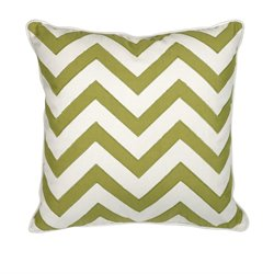 IMAX Corporation Essentials Apple Decorative Pillow in Green