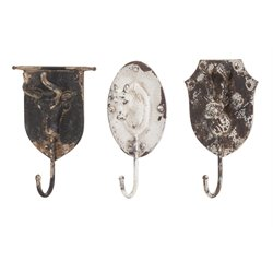 IMAX Corporation Burns 3 Piece Animal Wall Coat Rack Set in Brown