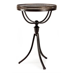 IMAX Corporation Empire Gallery Tri-Footed Table