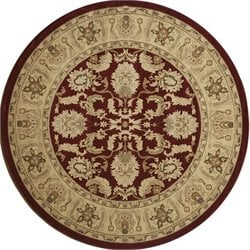 Momeni Royal  Rug in Red RY-04