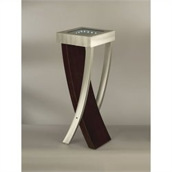 NOVA Lighting Boar Pedestal in Brushed Aluminum
