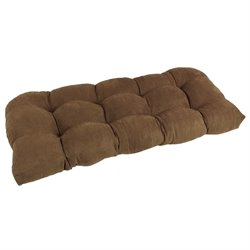 Blazing Needles U Shaped Tufted Settee Cushion