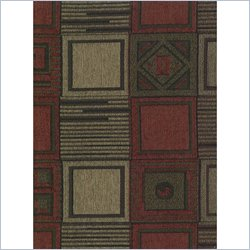Blazing Needles Jaquard Chenille Full Size Futon Cover in Tetris