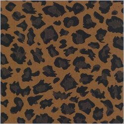 Blazing Needles S/3 Tapestry Futon Cover Package in Cheetah