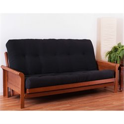 Blazing Needles 6-inch Vitality Full Size Solid Futon Matrress