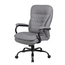 Heavy Duty Double Plush Plus Chair in Gray