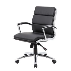 Plus Executive Mid-Back Chair in Black