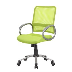 Boss Office Mesh Back Task Chair in Lime Green