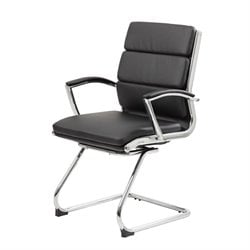 Plus Executive Guest Chair in Black