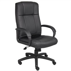Modern Executive High Back Office Chair in Black