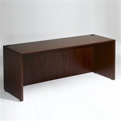 Boss Office Products Wood Credenza Desk
