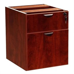 Lateral Wood Hanging File Cabinet in Mahogany