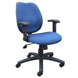 Ratchet Back Molded Foam Chair with Adjustable Arms