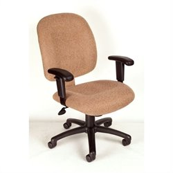 Mid-Back Ergonomic Chair with Adjustable Arms