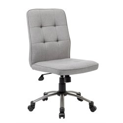 Boss Pretty Parsons Modern Armless Office Chair-SH