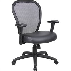 Mesh Arm Chair with Adjustment Lever