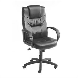 Executive Leather Plus Chair with Knee Tilt
