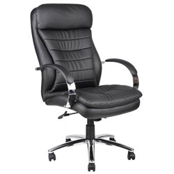 Hi-Back Plus Executive Chair with Chrome Base