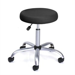 Easy Movement Caressoft Doctor's Stool in Black