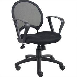 Mesh Back Task Office Chair with Loop Arms