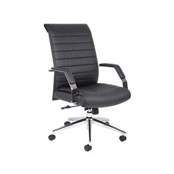 Executive High Back Ribbed Office Chair