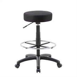 Boss Office Products The DOT Drafting Chair in Black