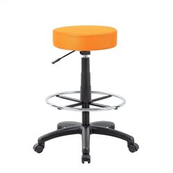 Boss Office Products The DOT Drafting Chair Orange