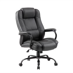 Heavy Duty Executive Office Chair in Black