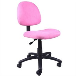 Fabric Deluxe Posture Chair in Pink