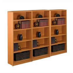 4 Shelf Bookcase in American Cherry