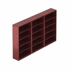 5 Shelf Bookcase in Cordovan