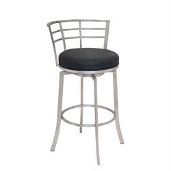 Armen Living Viper Stool in Black