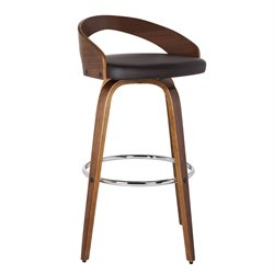 Armen Living Sonia Stool in Brown