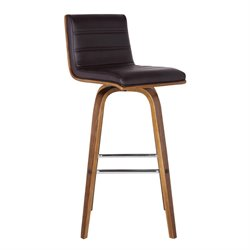 Armen Living Vienna Stool in Brown