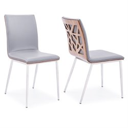 Crystal Dining Chair in Gray