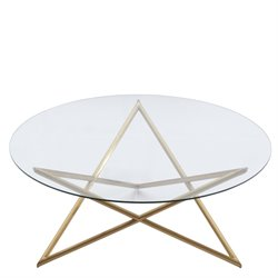 Armen Living Crest Coffee Table