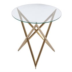 Armen Living Crest End Table