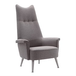 Armen Living Danka Chair in Gray