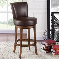 Boston Stool in Chestnut and Kahlua